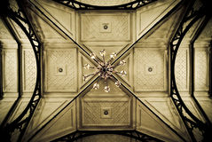 kyrkligt gammalt för tak Royaltyfria Foton
