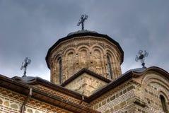 kyrkligt gammalt ortodoxt för kristen arkivbild