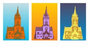 kyrkligt gotiskt Fotografering för Bildbyråer