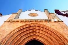 kyrkligt gotiskt Arkivbild