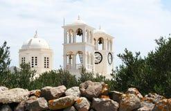 kyrkligt grekiskt ortodoxt för kristen Royaltyfria Bilder