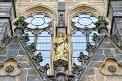Kyrkligt helgon Petri för evangelist i Leipzig Royaltyfria Bilder