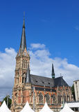 Kyrkligt helgon Petri i Chemnitz, Tyskland Arkivbilder