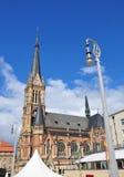 Kyrkligt helgon Petri i Chemnitz, Tyskland Fotografering för Bildbyråer