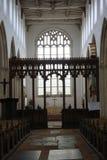 kyrkligt inre mediaeval Fotografering för Bildbyråer