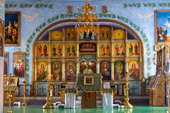 kyrkligt inre ortodoxt Arkivfoto