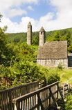 kyrkligt ireland kevin saintsymbol Royaltyfri Bild