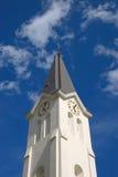 kyrkligt klockatorn Arkivbilder