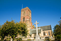 kyrkligt kors Arkivfoto
