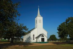 kyrkligt land royaltyfri foto