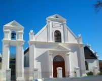 kyrkligt landstorn för klocka Royaltyfria Bilder