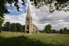 kyrkligt lantligt Arkivfoto