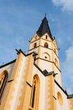 kyrkligt laurentiusst-torn Arkivbilder