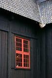kyrkligt lomnotsystemfönster Arkivbilder