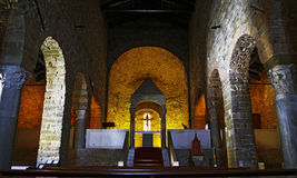 kyrkligt medeltida arkivfoto
