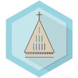 kyrkligt modernt Royaltyfri Bild