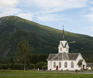 kyrkligt norwaigian Arkivfoton