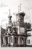 kyrkligt ortodoxt Royaltyfri Illustrationer