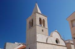 kyrkligt pag-torn Arkivfoto