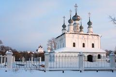 kyrkligt petropalovskay suzdal Royaltyfri Bild