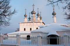 kyrkligt petropalovskay suzdal Arkivfoton
