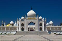 Kyrkligt porslin för Muslim Royaltyfria Foton