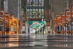 kyrkligt ritebröllop för ceremoni Royaltyfri Foto
