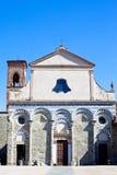 kyrkligt roman arkivbild