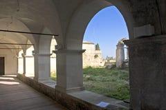 kyrkligt romanic royaltyfri fotografi