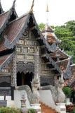 Kyrkligt tak av Thailand Royaltyfri Bild