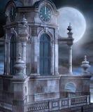 kyrkligt torn stock illustrationer