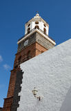 Kyrkligt torn Royaltyfria Bilder