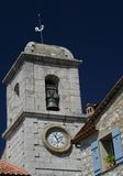 kyrkligt torn Arkivfoto