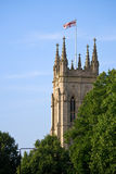 kyrkligt torn Fotografering för Bildbyråer