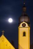 Kyrkligt torn av Schwandorf Royaltyfria Bilder