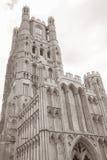 Kyrkligt torn för domkyrka, Ely; Cambridgeshire; England; UK Fotografering för Bildbyråer