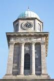 kyrkligt torn för klocka Royaltyfri Bild