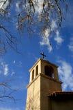 Kyrkligt torn, Sedona, USA Royaltyfria Foton
