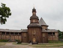 kyrkligt trä royaltyfri foto