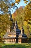 kyrkligt trä för antikvitet Fotografering för Bildbyråer