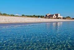 kyrkligt tropiskt för strand Royaltyfria Bilder