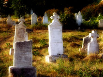 kyrkogård royaltyfri foto