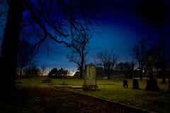 kyrkogård Royaltyfria Bilder