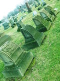 Kyrkogård Royaltyfri Bild