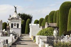 Kyrkogård av Punta Arenas Arkivfoto