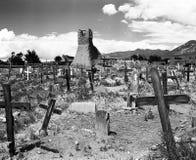 Kyrkogård av San Geronimo Royaltyfri Fotografi