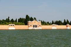 Kyrkogård av Venedig Arkivfoto