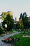 Kyrkogård Bautzen fotografering för bildbyråer