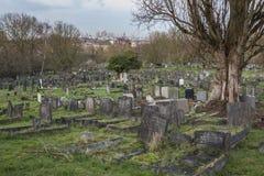 Kyrkogård för London ` s Camberwell Royaltyfri Foto