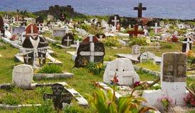 Kyrkogård för påskö Royaltyfri Foto